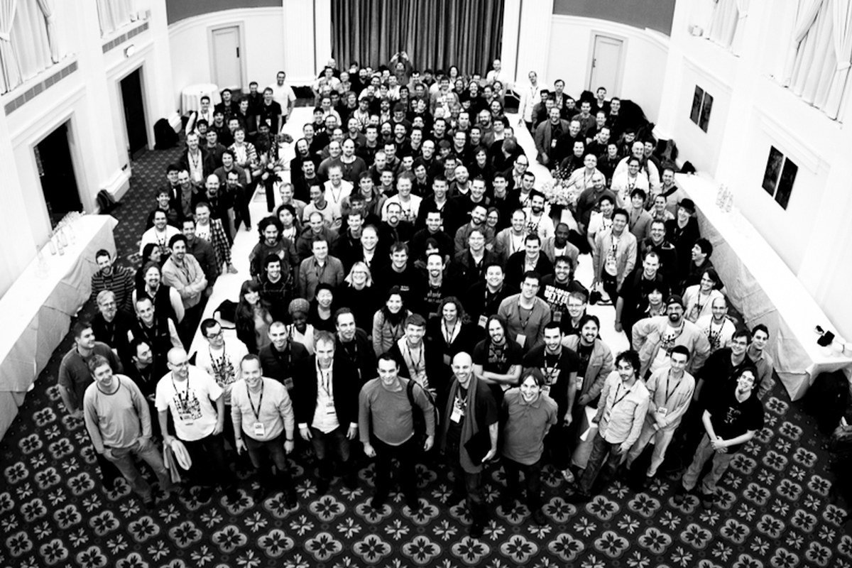 Gruppenfoto von der Plone Conference 2010 in Bristol