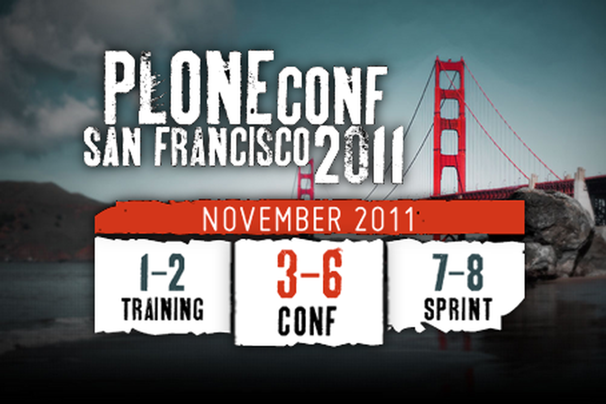 Plone Conference San Francisco 2011
