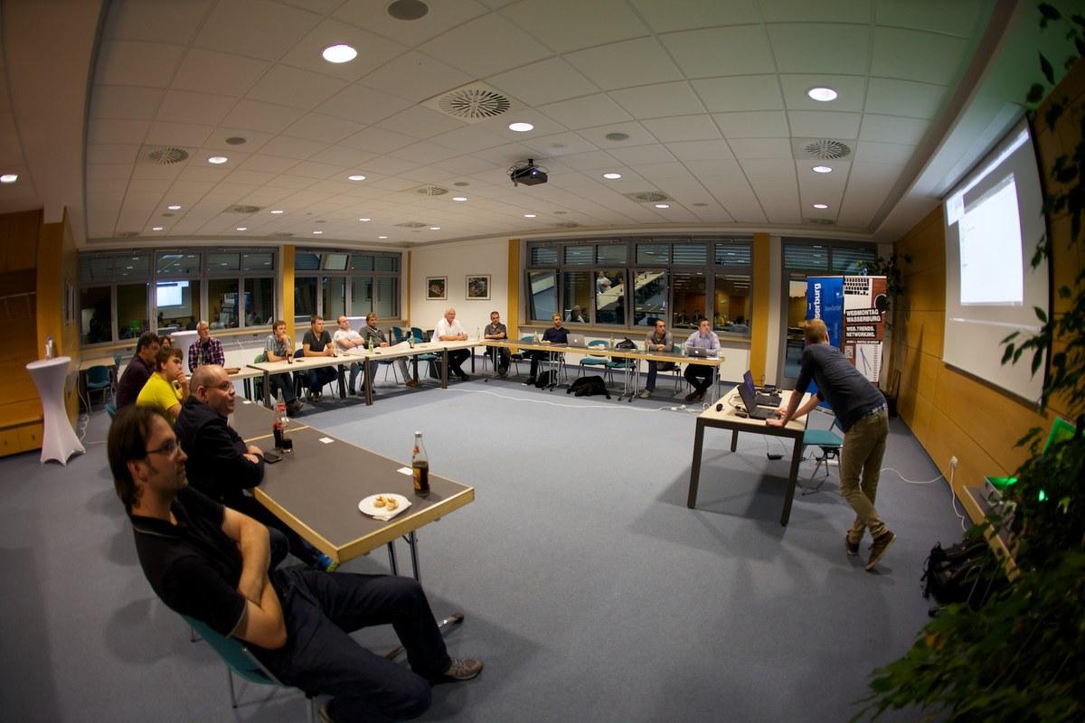 Review zur DSGVO als Thema beim Webmontag